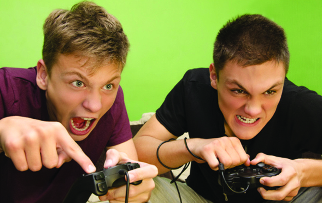 'video games involving violence or aggression