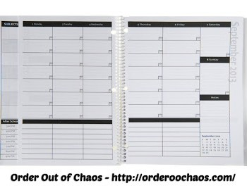 Order Out of Chaos Academic Planner Review