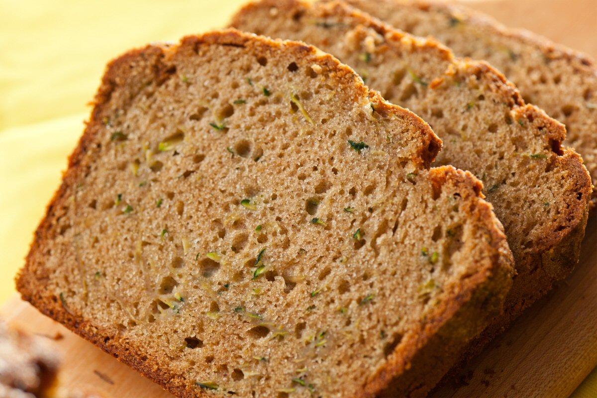 Mom's Recipes - Homemade Zucchini Bread