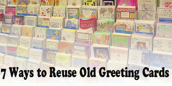 7 ways to reuse old greeting cards
