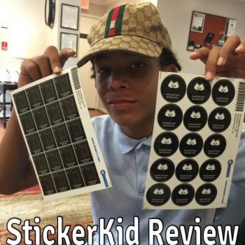 StickerKid Label Review
