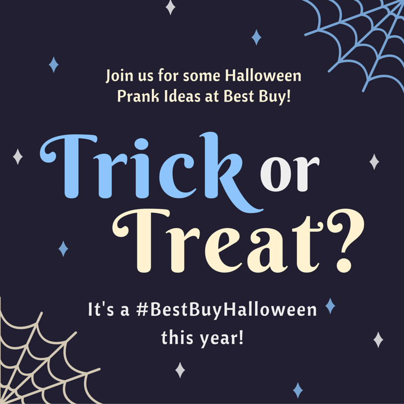 Halloween Prank Ideas from Best Buy at Life in a House of Testosterone