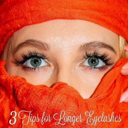 3 Tips on Growing Longer Eyelashes