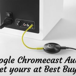 Google @Chromecast Audio: Let the Music Play at @BestBuy Now