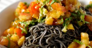 Recipe: Easy Black Bean Spaghetti