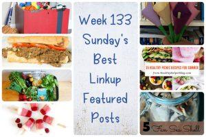 Week 133 Sunday's Best Linkup