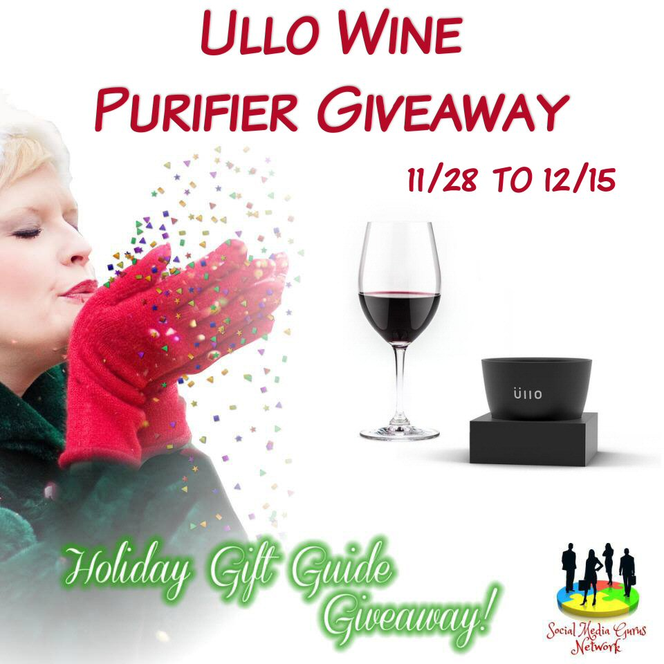 Ullo Wine Purifier Reviews >> Ullo Wine Purifier #Giveaway #holidaygiftguide - Hollybee ...