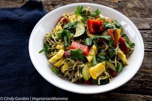 Recipe: Roasted Vegetables with Pasta