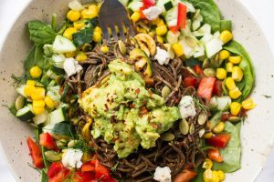 Recipe: Southwestern Black Bean Spaghetti