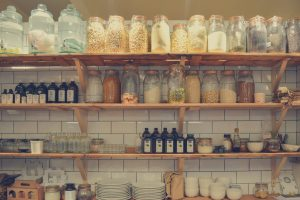 Keeping Your Kitchen Cupboards Free and Your Work Surfaces Clear