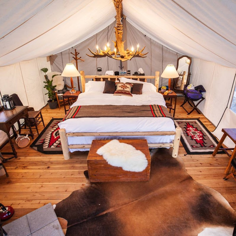 #glamping #comfortbed #airmattress #camping