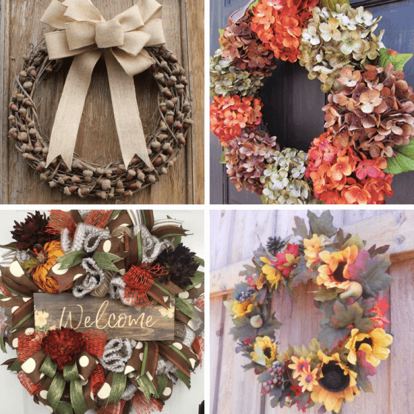 Week 191 - Fall Wreaths to Buy from Duct Tape and Denim