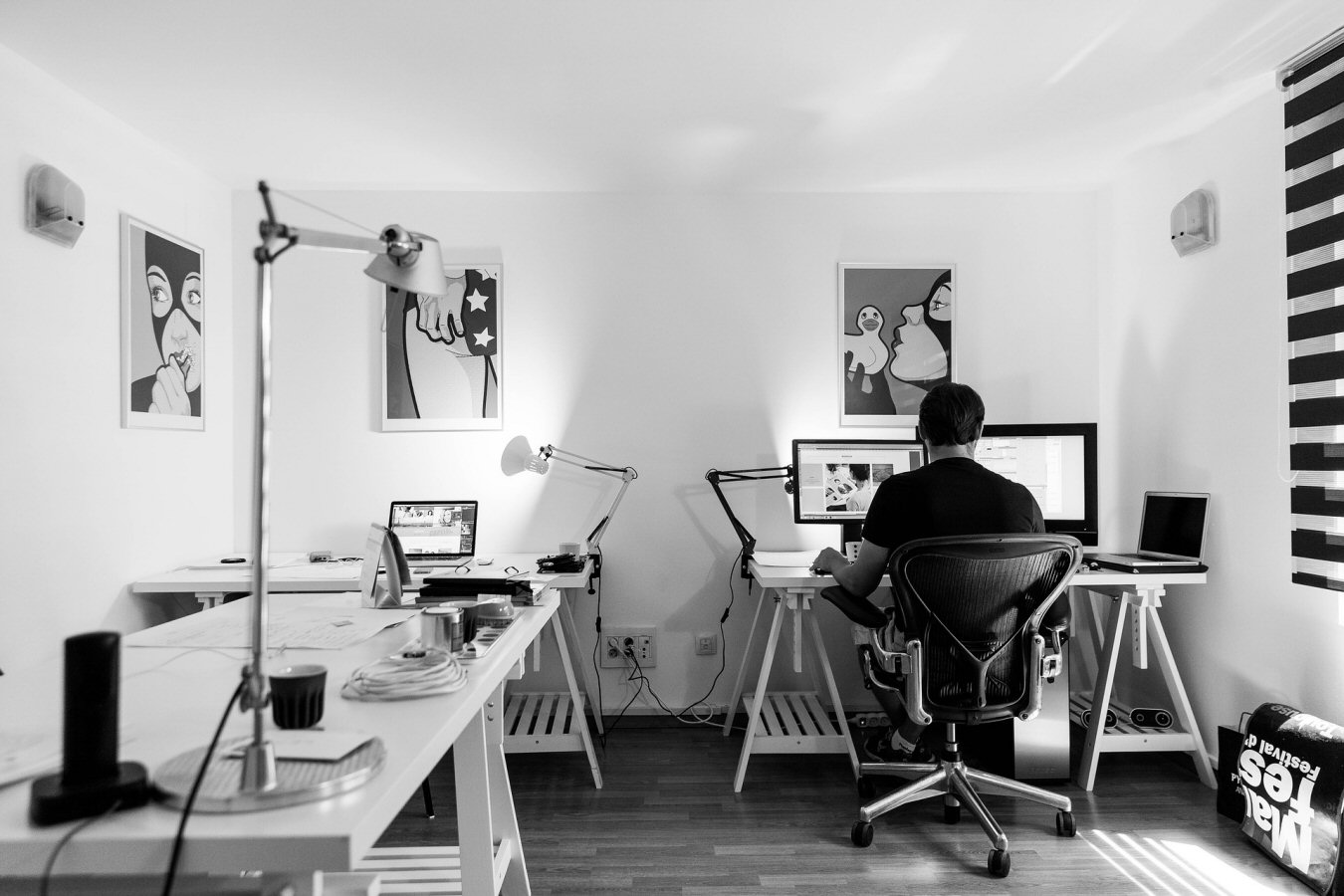 have a designated home office area