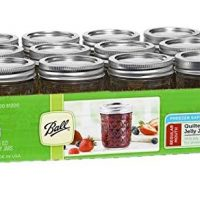 Ball Jar Quilted Crystal Jelly (Case of 12), 8 oz