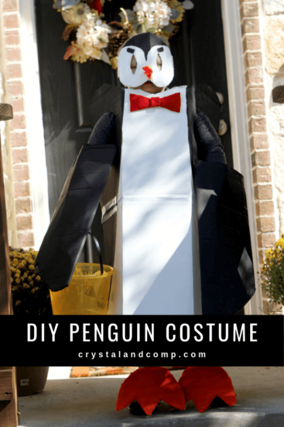 Week 250 DIY Penguin Costume from Crystal and Comp.