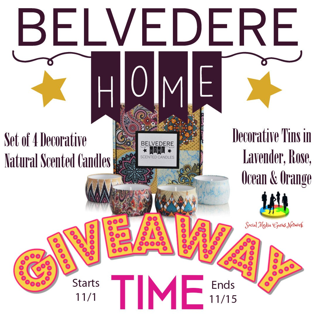 Belvedere Home Soy Candles