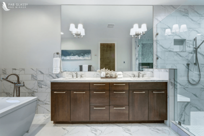 how much available bathroom space do you have