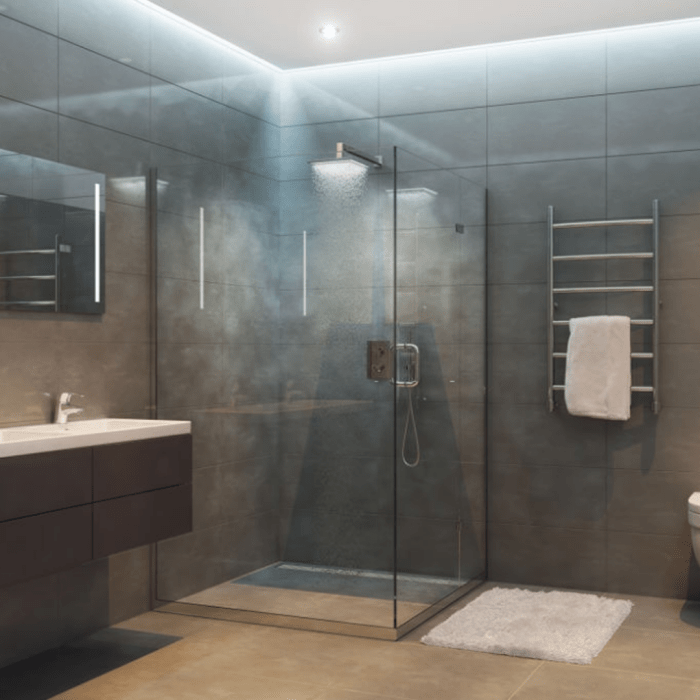 what is the shape of your shower enclosure