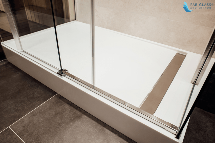 what type of frame does your shower enclosure have