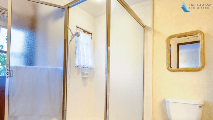 what type of doors does your shower enclosure have