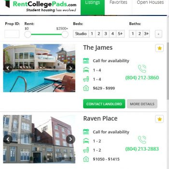 Find The Best Off-Campus Housing in Richmond